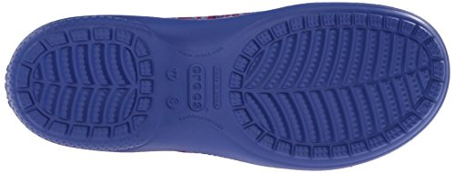 Crocs Womens Freesail Watercolor Clog Mule Cerulean Blue y08HY8