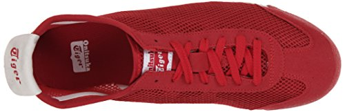 Onitsuka Tiger Mexico 66 Fashion Sneaker Rood Mesh / Rood / Wit
