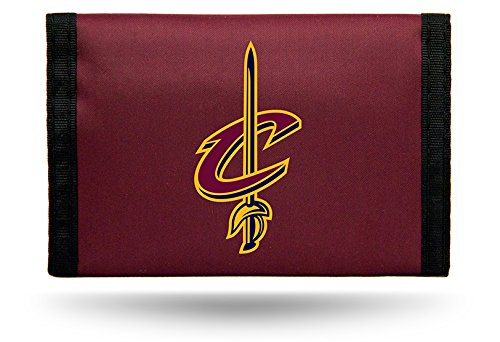 Rico Industries NBA Cleveland Cavaliers Nylon Trifold Wallet
