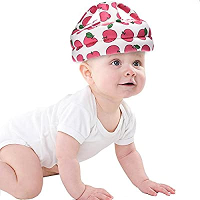Leiyini Baby Safety Helmet Toddler No Bumps Safety Protective Hat Adjustable Head Protection Cap