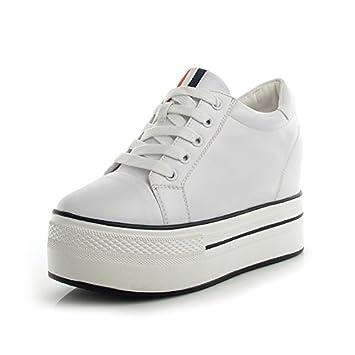 60ad1741c7f GTVERNH-Women'Shoes/Zapatillas Mujer/Zapatos Suela Gruesa Impermeable 5Cm  De Zapatos