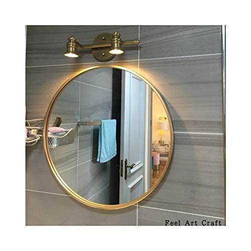 Aibuty Makeup Mirror Cosmetic Mirror Household Bathroom Mirror Makeup Mirror,Hotel Bathroom Mirror Decorative Mirror Circle Mirror50CM Diameter