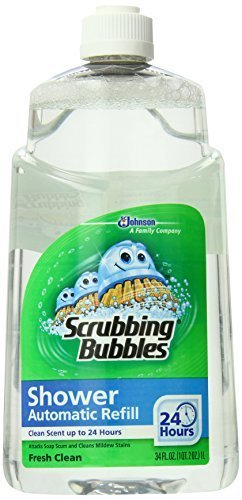 Scrubbing Bubbles Auto Shower Cleaner, Fresh Scent Refills (Pack of 6) by Scrubbing Bubbles