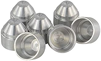 TEEPAO - Aluminum 1/2-28 5/8-24 Car Fuel Filter 1X6 Car
