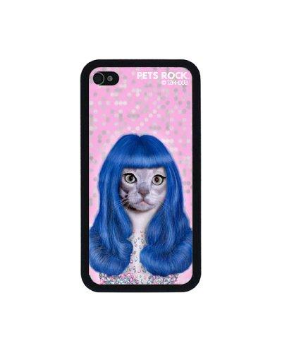 Pets Rock - Custodia Statement in policarbonato, motivo con caricatura antropomorfa (La drag queen), per Apple iPhone 4/4s