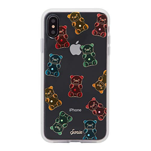 iPhone Xs Max Case, Sonix Gummy Bear [Military Drop Test Certified] Protective Multi-Color Rhinestone Embellished Clear Series for iPhone Xs Max