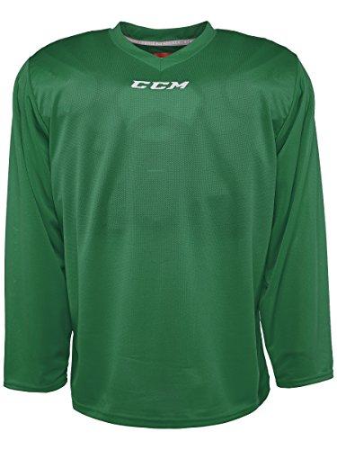 (CCM 5000 Series Hockey Practice Jersey - Senior - Kelly Green, Large )
