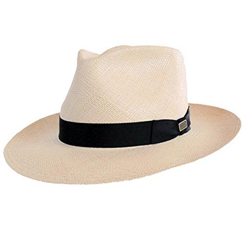 DelMonico Panama Hat - Retro Style-Natural-71_8 by DelMonico