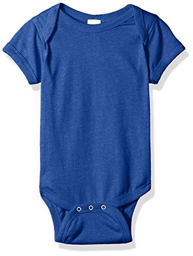 Onesie Jersey - Clementine Baby Vintage Fine Jersey Bodysuit Onesie, Vintage Royal, 12MOS