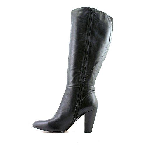 Marc Fisher Womens Shayna (Wide Calf) Leather Closed Toe Knee High Fashion BO. Black vtVM12
