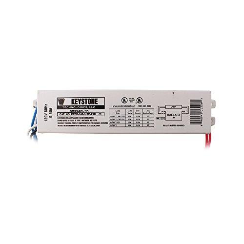 - KTEB-140-1-TP-EMI 1 Lamp F40T12 Electronic Ballast 120 Volt