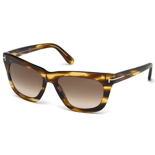 Tom Ford Designer Sunglasses, Dark Brown/Gradient Brown, - Ford Tom Frames Uk