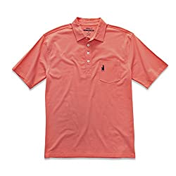 johnnie-O Men's Barnum Polo in CORALREEF, Size M