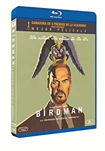 Birdman Blu-Ray [Blu-ray]: Amazon.es: Michael Keaton, Emma ...