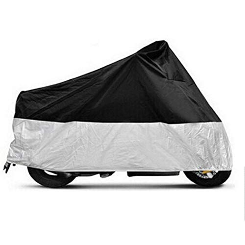 190t Polyester - Baorin Motorcycle Cover 190T Polyester Waterproof Dustproof Windproof Vehicle Covers