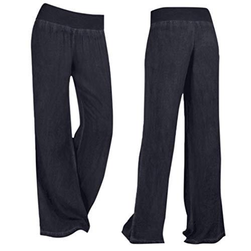 Larga Alta Caviglia Ode larghi Pantalone Nero Joy Fitness Yoga Loose Pantaloni Split Vita jeans Gamba athletic Pantaloni Alla Pantaloni Estivi Donna Traspirante Pantaloni Harem qZ0q4P