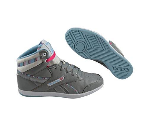 Grey Mid Reebok Baskets Blue Bb7700 Candy Femme 36 White Pink Mode Flat rH11YAWqB