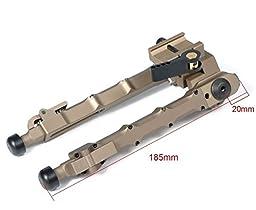 Bestsight (SR-5) DE DARK EARTH QD Bipod Tactical Bipod 7.25 - 9 inches Flat Adjustable