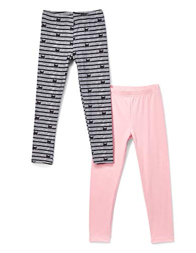 d73698eb6a622 Freestyle Revolution Girls' Big FS7-78067-Brushed Leggings Footless Tights  (2 Pack