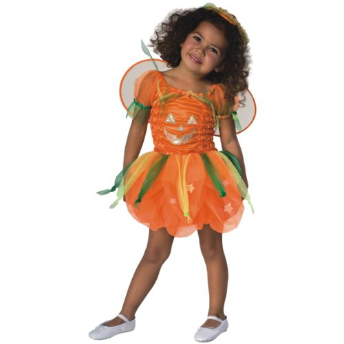 Rubies Pumpkin Infant Halloween Costume (Rubie's Costume Baby Pumpkin Pie Dress Costume, Orange, 6-12 Months)