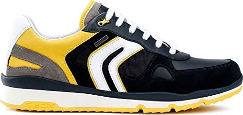 Abx Bleu Sandford B Yellow Homme Basses Cf42m A U lt Sneakers Geox navy Tp1cfW