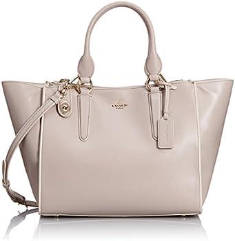 Color Block Leather Crosby Carryall Handbag