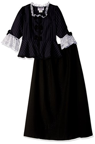 (Charades Child's Colonial Girl Costume Dress,)