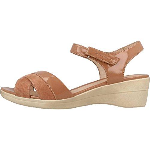 Marrone Vanità Stonefly Di 3 Iii Donne Pantofole Marca Sandali Colore Donne Marrone Sandali Ciabatte Modello 1CISq1