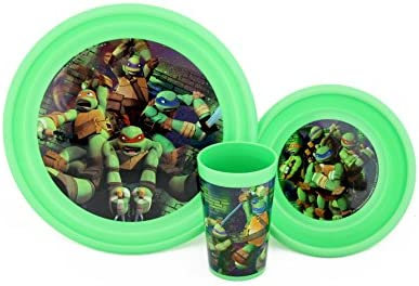 Teenage Mutant Ninja Turtles 3 Piece Meal Set by Summit ...