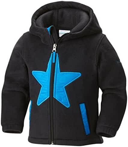 Columbia Kid's Star Bright Fleece Hoodie 3/6 BLACK