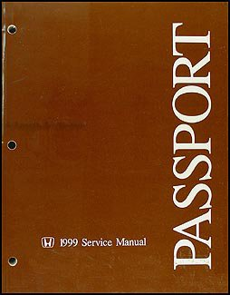1999 honda passport repair shop manual original honda amazon com rh amazon com 1997 honda passport service manual honda passport service manual