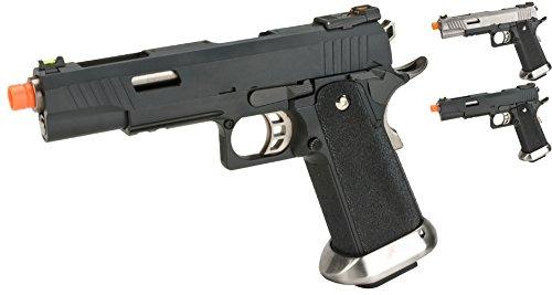 Evike - WE-Tech Hi-Capa 5.1 T-Rex Competition Airsoft Pistol - Black - (56824)