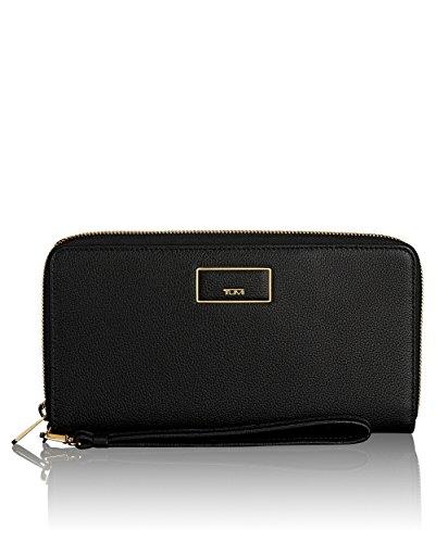 Tumi Women's Belden Wallet Travel Purse, Black, One Size by Tumi