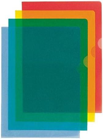 Sichthülle Standard Plus A4 Esselte; #Hülle# ... genarbt gelb 100 Stück PP