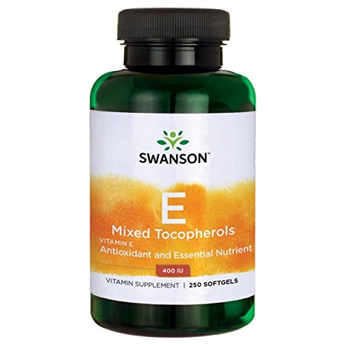 Swanson Vitamin E Mixed Tocopherols 400 Iu (268 Milligrams) 250 Sgels