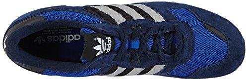 adidas ZX 700 Unisex-Erwachsene Sneakers Blau (Collegiate Navy/Mgh Solid Grey/Collegiate Royal)