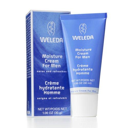 Weleda Moisture Cream for Men 1.0 fl oz Cream (Deliveries For Men)