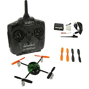 Walkera Ladybird V2 Lady Bug RTF Quadcopter Drone Quad with Devo 4 Transmitter