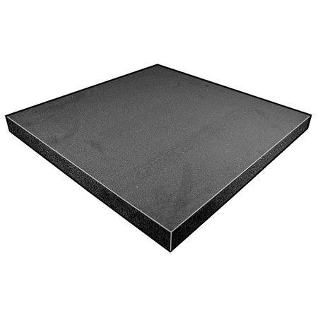 Foam Sheet, Crosslink, Poly, 1 11/16x12x12