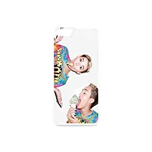 Iphone 6 Case Miley Cyrus for iPhone 6 4.7inch Plastic&TPU Black&White