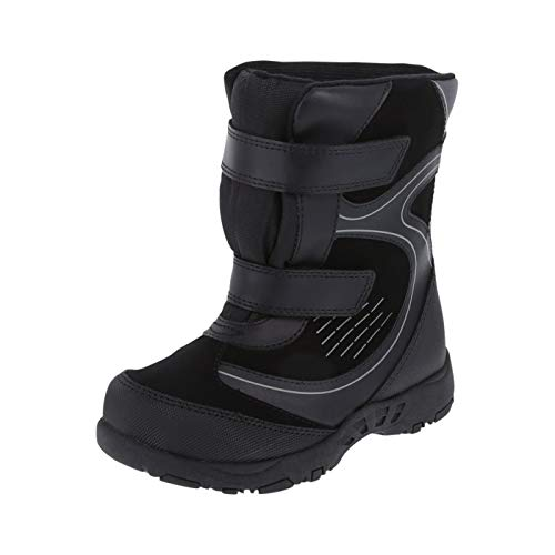 Snowboard Boys Youth Boot - Rugged Outback Black Boys' Zo -30 Snowboard Boots 12 Regular