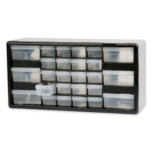 Wholesale CASE of 5 - Akro-Mils 26-Drawer Stackable Cabinet-Stackable Cabinet,26 Drawers,20