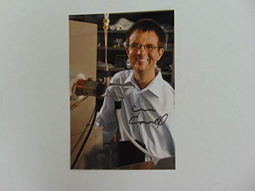 """Nobel Prize in Physics"" Eric Cornell Hand Signed 4X6 Color Photo Mueller COA from Unknown"