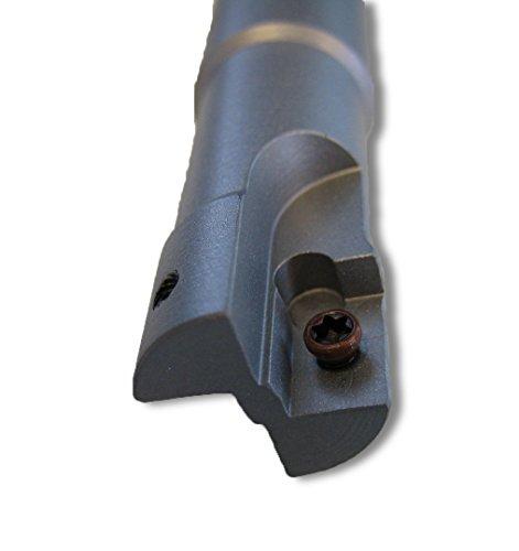 CNC Wendeplattenfräser 90° Schaftfräser D=16mm Z=2 L=150mm NL=102mm für APKT 1003