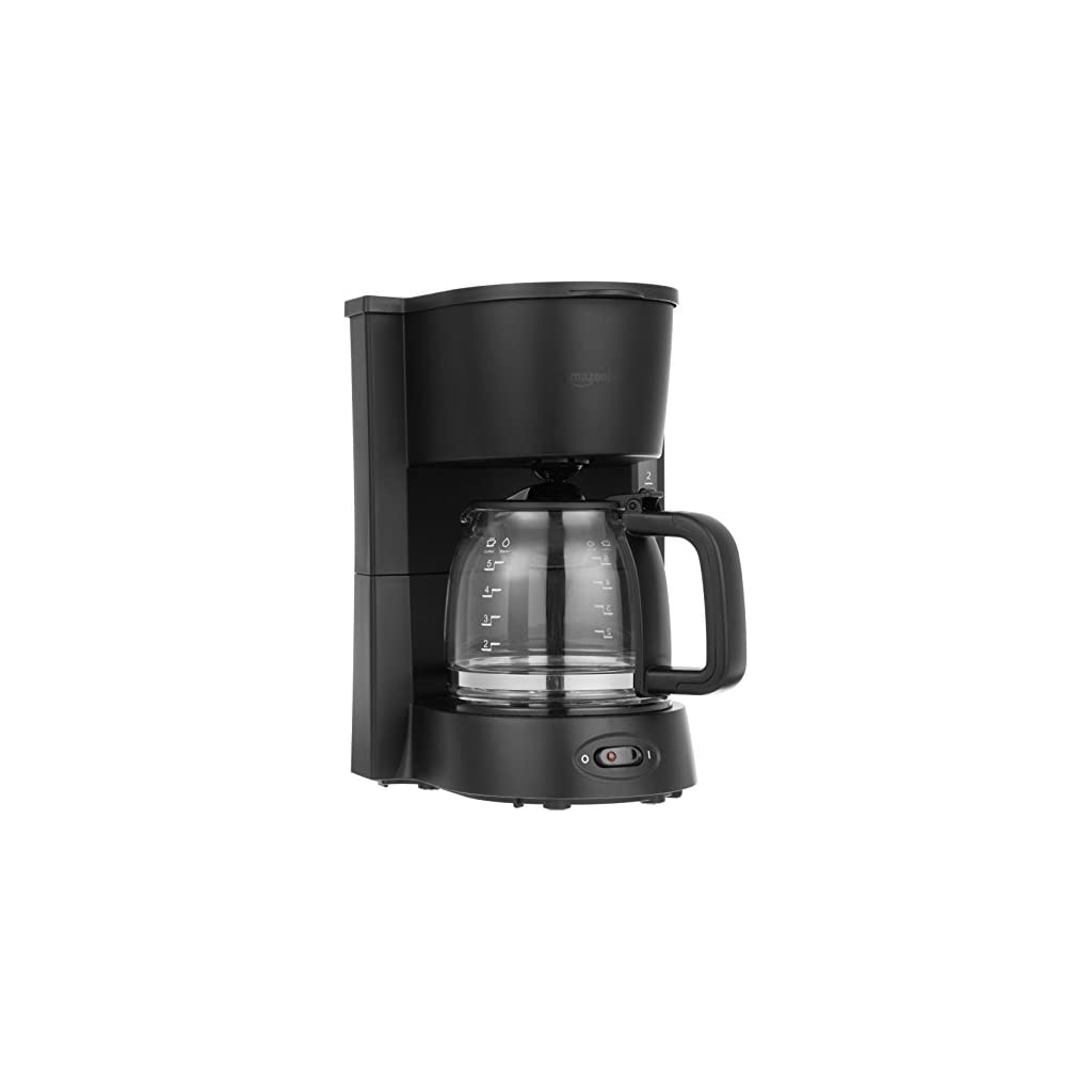AmazonBasics-5-Cup-Coffeemaker-with-Glass-Carafe