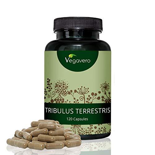 Tribulus Terrestris by Vegavero | 600 mg per Capsules, 90% Saponin Content...