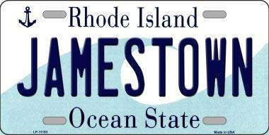 Island License Plate State Rhode (Bargain World Jamestown Rhode Island State License Plate Novelty License Plate (Sticky Notes))