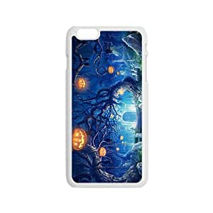 Happy Halloween capricious tree and pumpkin Case for Iphone 6
