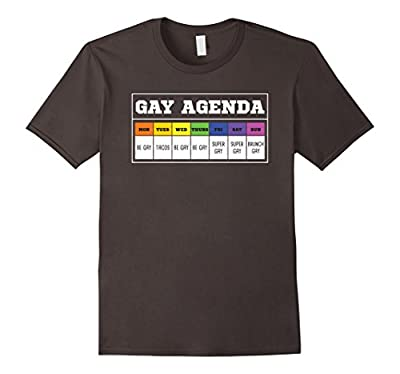 Gay Agenda Funny T Shirt