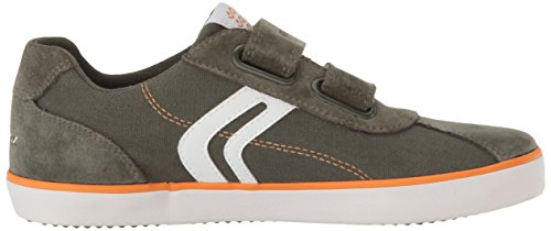 Geox Jungen J Kilwi Boy I Sneaker Grün (Military/Orange)